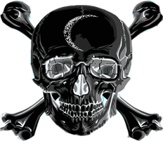 Twisted Theorem Skull and Crossbones